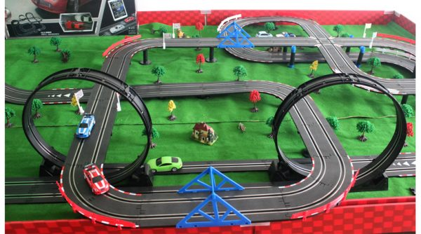 Top-Racer AGM TR Series (TR-06) Slot Car Racing Set Kits. 13.5 Meters Slot Car Track.