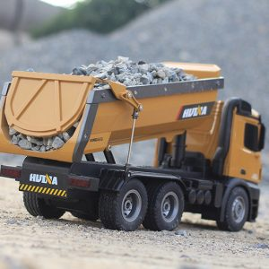Big Scale RC Dump Truck Toy Car (2.4Ghz Radio Remote Control Electric Truck Toy)