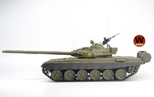 Russia T72 RC Tank 1:16 Scale Model Main Battle Tank (Heng-Long 3939 Plastic Basic Version)