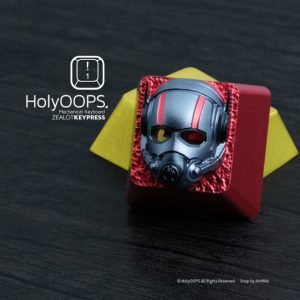 Marvel Avengers Ant-Man Custom Keycap, Backlit Keycap, Artisan Keycap For Cherry MX Switch Mechanical Keyboard