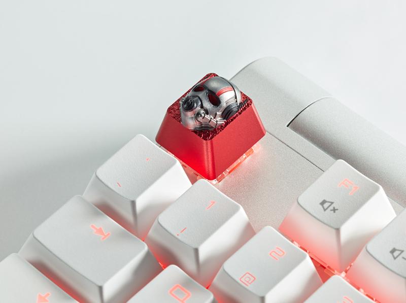 Marvel Avengers Ant-Man Custom Keycap, Backlit Keycap, Artisan Keycap For Cherry MX Switch Mechanical Keyboard