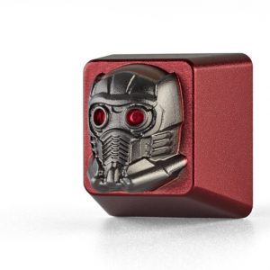 Marvel Guardians of the Galaxy Star-Lord Custom Keycap, Backlit Keycap, Artisan Keycap For Cherry MX Switch Mechanical Keyboard
