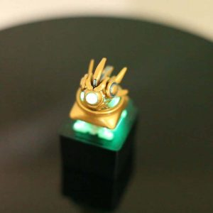StarCraft II Protoss Probe Custom Keycap, Backlit Keycap, Artisan Keycap For Cherry MX Switch Mechanical Keyboard