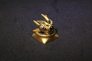 StarCraft II Protoss Probe Custom Keycap, Backlit Keycap, Artisan Keycap For Cherry MX Switch Mechanical Keyboard