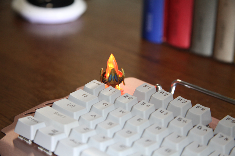 StarCraft II Protoss Pylon Custom Keycap, Backlit Keycap, Artisan Keycap For Cherry MX Switch Mechanical Keyboard
