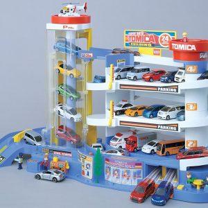 Takara Tomy & Tomica Super Auto Garage Parking Role Playing Game Play Set STEM Toy