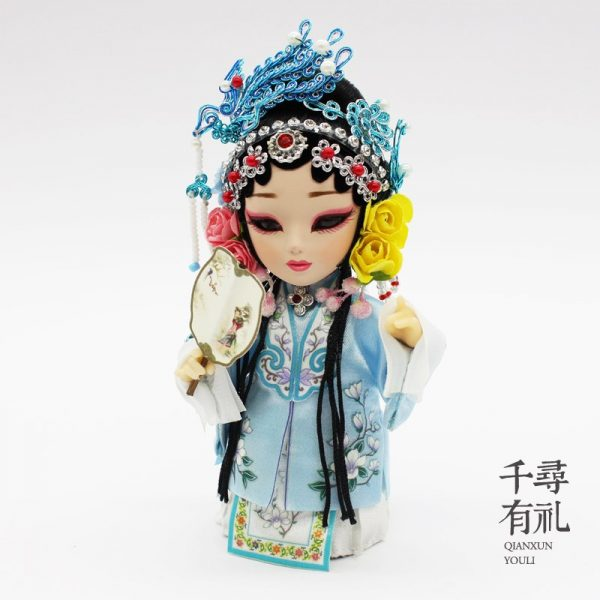 Chinese Crafts Gifts, Action Figures, Handicraft Silk Figurines, Silk Doll, Memorabilia, Souvenirs