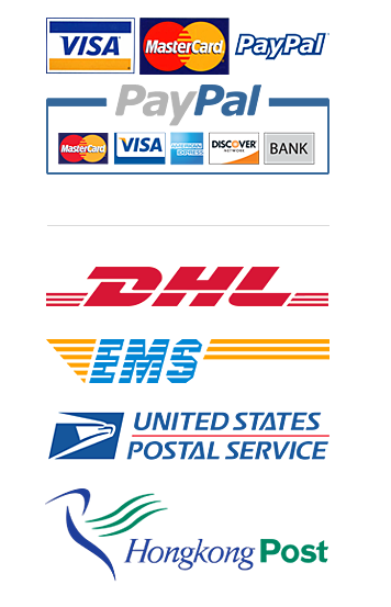 Accept Credit Card & PAYPAL Payment. Via DHL EMS USPS HK-Post To Worldwide .