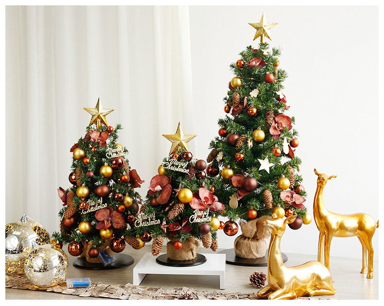 1ft, 2ft, 3ft, Small Pre-Lit Nordic Style Tabletop Artificial Scandinavian Christmas Trees, Scandinavian Christmas Decorating