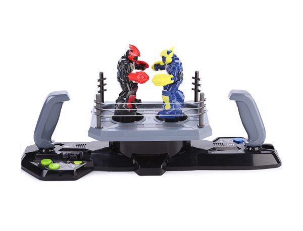 Joystick Handle Remote Control Boxer Interactive Robot Toy, Double Player Arena Battle Boxing RC Robot
