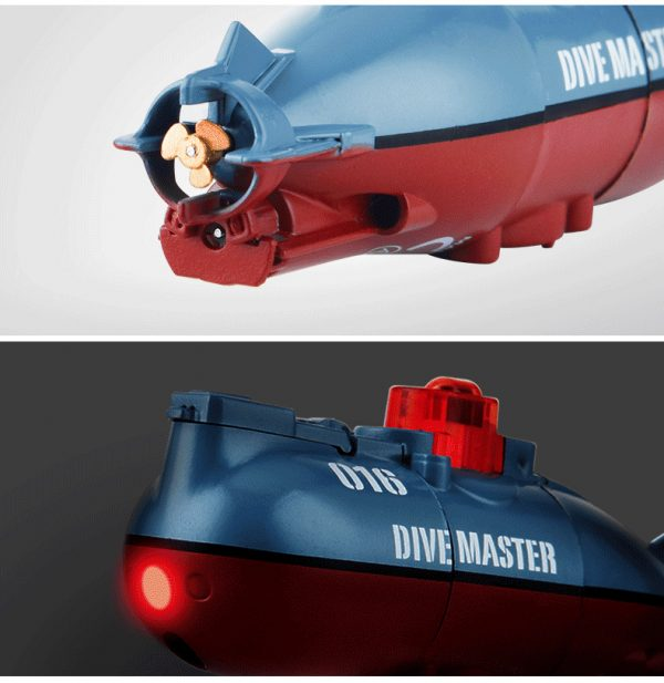 WOOW. So. So. Mini RC Submarine. (If you have a Fish-tank, you real need this Micro Submarine Toy for your Aquarium, Captain)