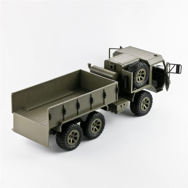 6X6 6WD HEMTT US Army Military Truck Toy (Can Install Wifi Camera), Remote Control off-road Truck Toy, RC Car.