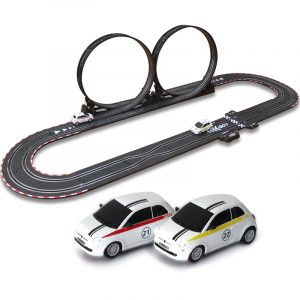 "-""Thrilling Roller coaster""- Slot Car Track Layout Set Kits, Top-Racer AGM TR Series (TR-02) Slot Car Racing Set Kits. (1:43 Scale Indoor racing car toy)"