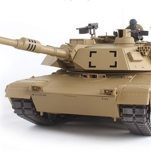 Remote Control M1A2 Abrams Main Battle Tank Scale Model Heng-Long 3918 RC Tank Military Vehicle Model