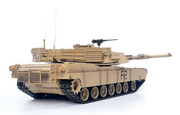 Remote Control M1A2 Abrams Main Battle Tank Scale Model Heng-Long 3918 RC Tank Military Vehicle Model
