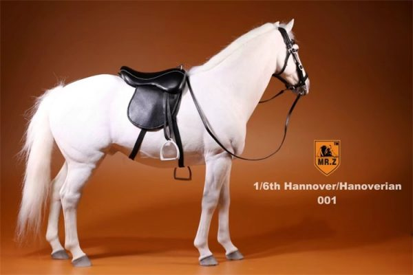 1/6th Scale Model Hanoverian (Hannoveraner) Warmblood Horse, Playset, Animal Figures Horse, Action & Toy Horse