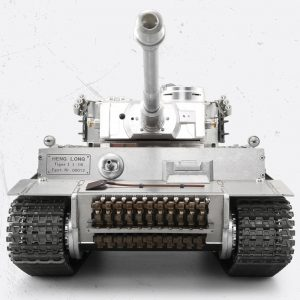 "-""Full Metal RC Tank""- Tiger I RC tank 1/16 Scale Model, CNC Precision Manufacturing, Stainless steel alloy, (Panzerkampfwagen VI Tiger Ausf. E RC Panzer)"