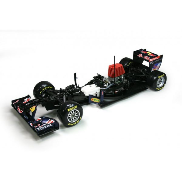 "-""Gas Powered RC Car""- Red Bull RB7 Formula One Racing Car (1:7 Scale Model Red Bull Racing RB7 RC Nitro F1 Car Full Kits)"