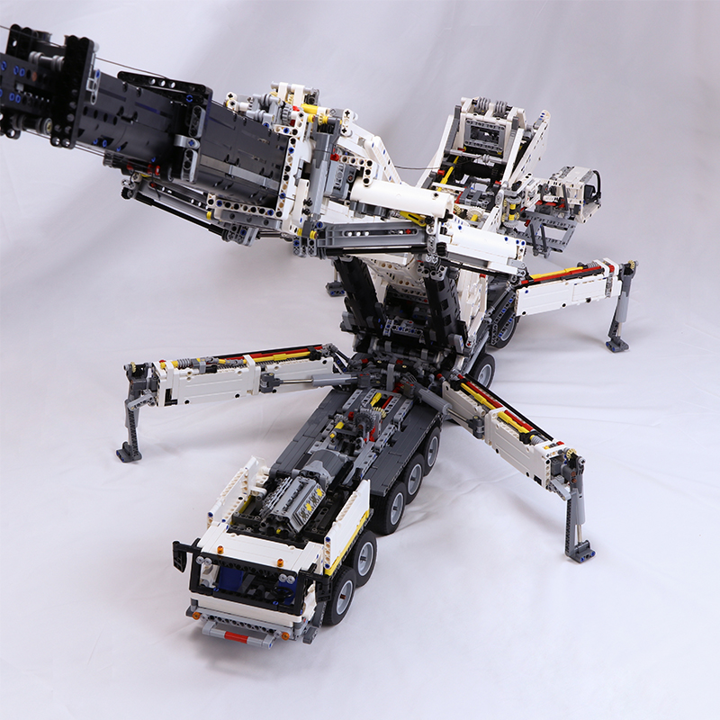 "Rc Car Action: -""7692 Pieces My Own Creation""- Technic MOC 20920 RC"