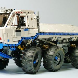 "-""3599 Pieces My Own Creation""- MOC-27092 Tatra T813 8x8 Kolos Heavy Utility Truck Custom Bricks. (MOC Custom Bricks, Compatible Building Blocks Bricks)"
