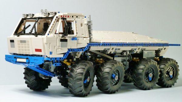 "-""3599 Pieces My Own Creation""- MOC-27092 Tatra T813 8x8 Kolos Heavy Utility Truck Custom Bricks. (MOC Custom Bricks, Compatible Building Blocks Bricks)"