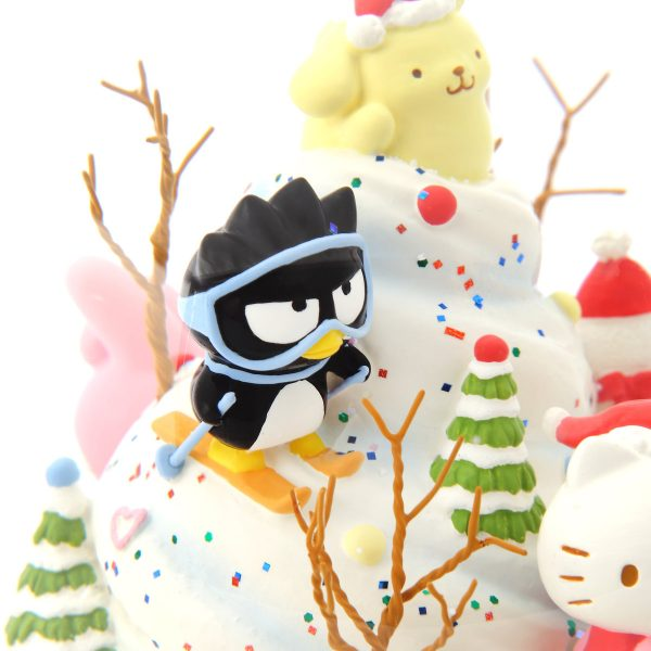 """ice cream cupcake cake"" Music Snow Globe, Sanrio Christmas, Hello Kitty, Bad Badtz-maru, Pompompurin, Cinnamoroll, Little Twin Stars, My Melody, Kuromi (Musical Box Water Globe / Snow Domes Christmas Collection)"