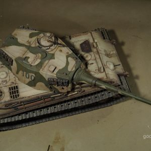 "-""Most Like a Real Tank""- Drawn by model maker master ""Tiger II"" Scale model RC Tank (""Panzerkampfwagen Tiger Ausf. B"" / ""King Tiger tank"" / ""Tiger B"" / ""Sd.Kfz. 182."" / ""K?nigstiger tank"" / ""royal tiger tank"" / ""bengal tiger tank"")"