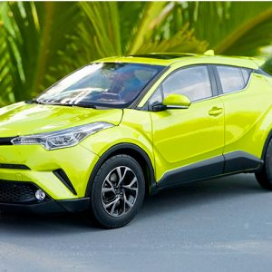 Diecast Cars, 1/18 Diecast Model Car, TOYOTA C-HR 1:18 Scale Model Car.