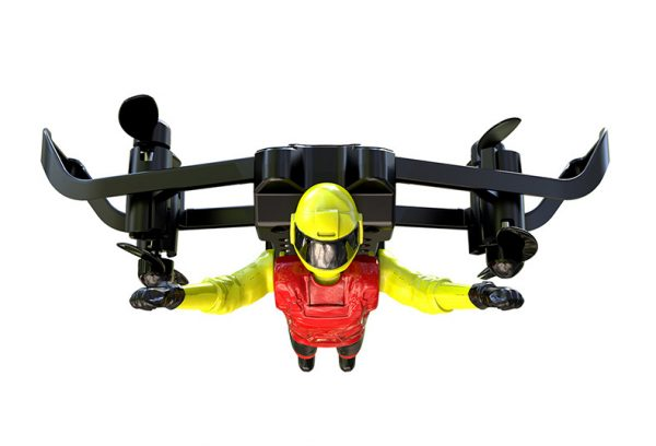 """Flying Man"" Quadcopter RC Toy, RC Quadrotor Helicopter, Quadcopter Drone Toy, Remote Control Mini Toy Aircraft"