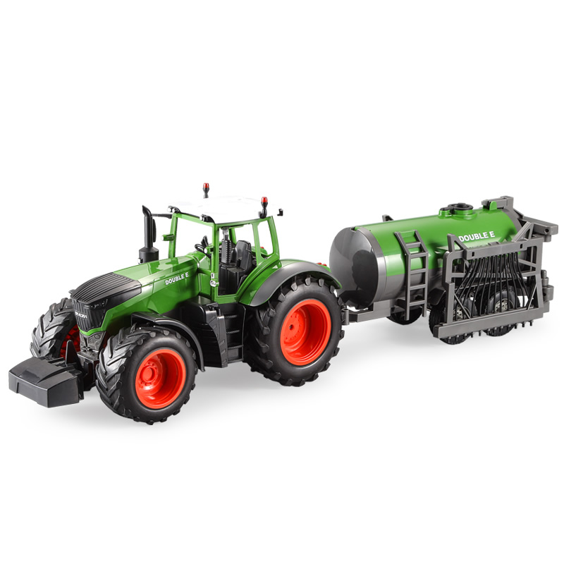 "-""Simulation RC Farm Tractor With Drip Irrigation System""- Electric Remote Control Tractor Toy Drag The Drip Irrigation Water Tank (Outdoor Children's Farmer Game, Agricultural Equipment, Farm Vehicle Toy)"