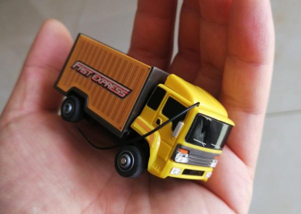 """Super mini RC Truck"" ""RC Micro Bus"", RTR Full Function, 27MHz Remote Control Electric ultra-small toy Scale model car."