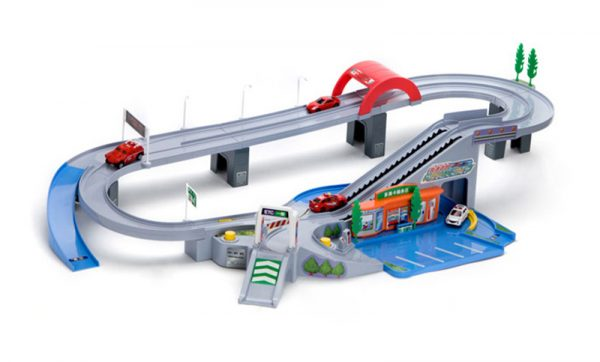 "Takara Tomy & Tomica Cars Playset ""The Ring Road & Ring Highway"" Playset Kits for kids."