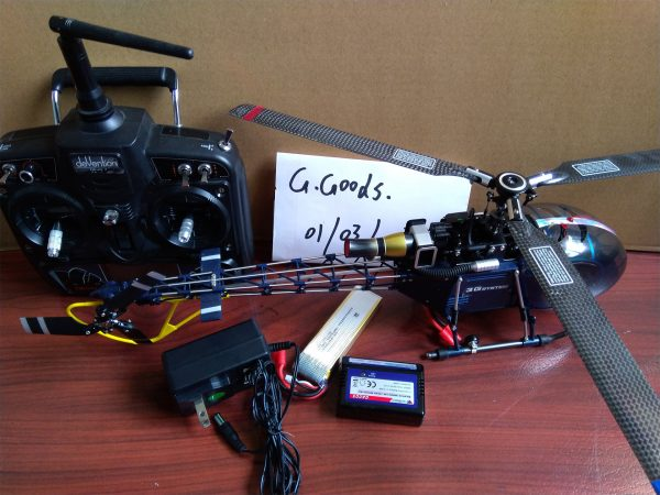 """SA-315A Lama Like Real RC Scale Model Helicopter "" Walkera 4F200LM 2.4GHz 3D 6CH Brushless 3-Axis Gyro RC Helicopter 3-Blades Flybarless Metal (RTF) Ready to Fly Heli w/ Devo7 Transmitter"
