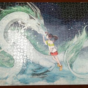 1000 Pieces Wooden Jigsaw Puzzle Hayao Miyazaki Spirited Away sophisticated Jigsaw puzzle for adults brain teaser game picture Puzzle pieces Japanese animated jigsaw pieces