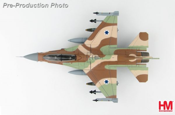 "Hobby Master Collector 1/72 Air Power Series HA3873 Israel Air Force General Dynamics F-16D Barak, Lockheed Martin F-16D Barak 074, 109 Squadron ""UAV Killer"" (Airplanes Diecast Model, Military Aircraft Scale Model)"