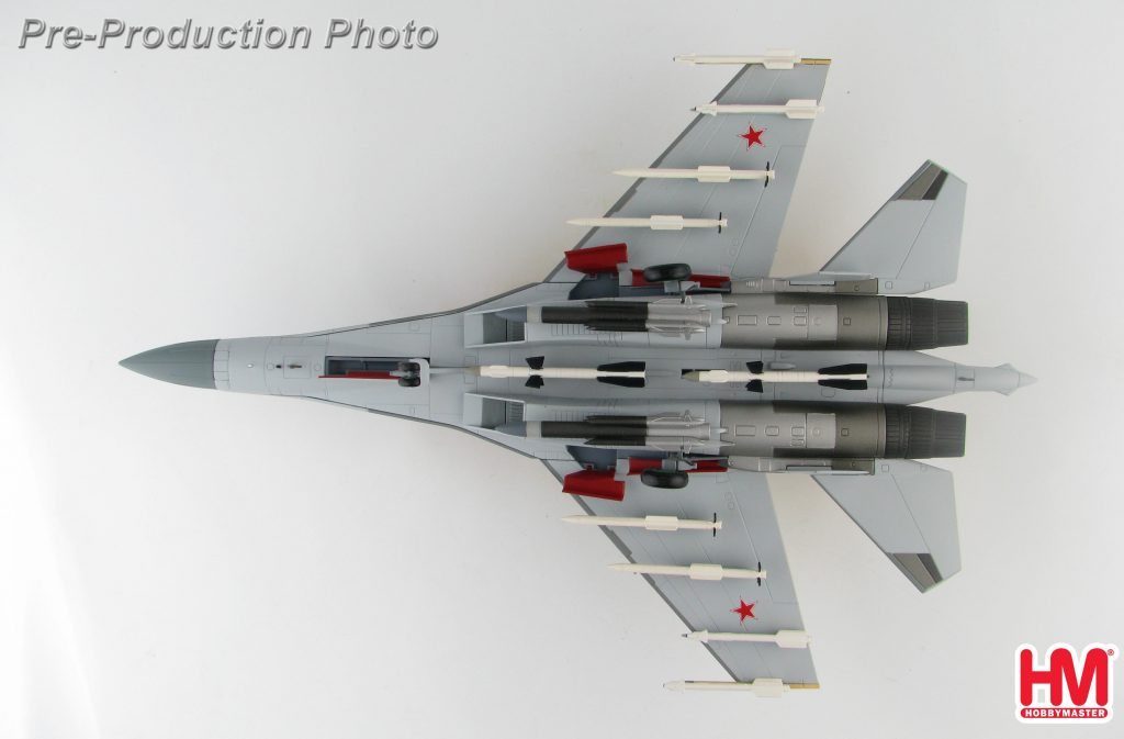"Hobby Master Collector 1/72 Air Power Series HA5706 Russian Air Force Su-35 Flanker ""Prototype"" 901, MAKS-2007 Airshow, Zhukovskij, August 2007 (Military Airplanes Diecast Model, Pre-built Aircraft Scale Model)"