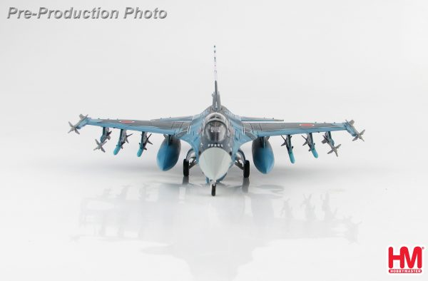 """Hobby Master Collector 1/72 Air Power HA2712B Japan Air Self-Defense Force Jet Fighter Mitsubishi F-2A 03-8509 """"60th Anniversary"""" scheme Cherry blossom painting (Military Airplanes Diecast Model, Pre-built Aircraft Scale Model)"""