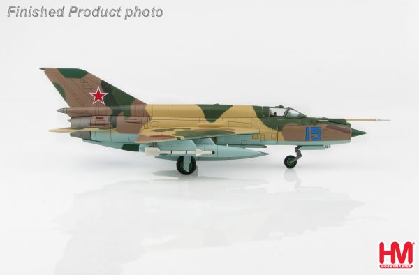 Hobby Master Collector 1/72 Air Power HA0194 Soviet Union Air Forces Mikoyan-Gurevich MiG-21MT Supersonic Jet Fighter & Interceptor Aircraft, Blue 15, Dolgoye Ledovo, Russia, 1970s (Military Airplanes Diecast Model, Pre built Aircraft Scale Model)