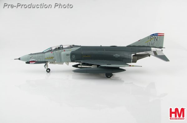 "Hobby Master Collector 1/72 Air Power HA19009 McDonnell Douglas F-4 Phantom II Jet interceptor & Fighter-bomber, F-4E 73-1199 ""Desert Storm"" 13th AF, Incirlik AB, Turkey, 1991 (Military Airplanes Diecast Model, Pre built Aircraft Scale Model)"