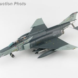 "Hobby Master Collector 1/72 Air Power HA19010 McDonnell Douglas F-4 Phantom II, F-4G Wild Weasel Electronic Warfare Aircraft (EWA), 69-0291, 90th TFS, 1990 ""Desert Storm (Military Airplanes Diecast Model, Pre built Aircraft Scale Model)"