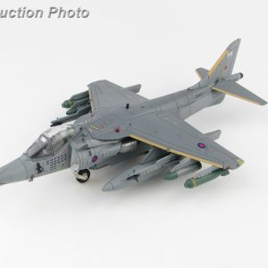 "Hobby Master Collector 1/72 Air Power HA2623 Royal Air Force (RAF) British Aerospace Harrier II GR7A Vertical/short Takeoff and Landing (V/STOL) Strike Aircraft, ""Operation Herrick"" ZD404 ""Lucy"", Kandahar, Afghanistan, Nov 2006 (Military Airplanes Diecast Model, Pre built Aircraft Scale Model)"