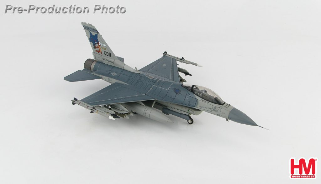 Hobby Master Collector 1/72 Air Power HA3869 United States Air Force (USAF) General Dynamics F-16 Fighting Falcon Supersonic Multirole Fighter, F-16C Block 52 92-3911, 157th FS/169th FW, South Carolina, McEntire JNGB, August 2015 (Military Airplanes Diecast Model, Pre built Aircraft Scale Model)