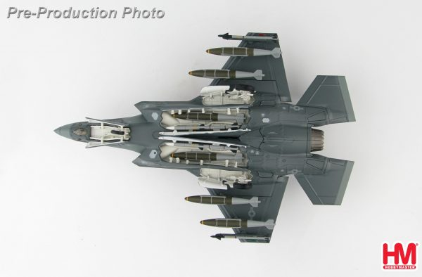 "Hobby Master Collector 1/72 Air Power HA4419 US Air Force Lockheed Martin F 35A Lightning II Stealth Multirole Fighter, 15 5194, 466th FS ""Diamondbacks"", 419th FW, October 2018 . (Military Airplanes Diecast Model, Pre built Aircraft Scale Model)"