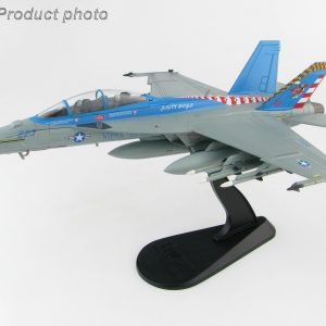 "Hobby Master Collector 1/72 Air Power HA5112 U.S. Navy Boeing F/A-18F Super Hornet Carrier-Based Multirole Fighter, 165801, VX-23 ""Salty Dogs"", Naval Air Station Patuxent River, 2016 (Military Airplanes Diecast Model, Pre built Aircraft Scale Model)"