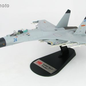 Hobby Master Collector 1/72 Air Power HA6002 J-11BH multi-role fighter Blue 24, 2014. CCP Air Force Shenyang J-11 Air Superiority Fighter (Military Airplanes Diecast Model, Pre built Aircraft Scale Model)