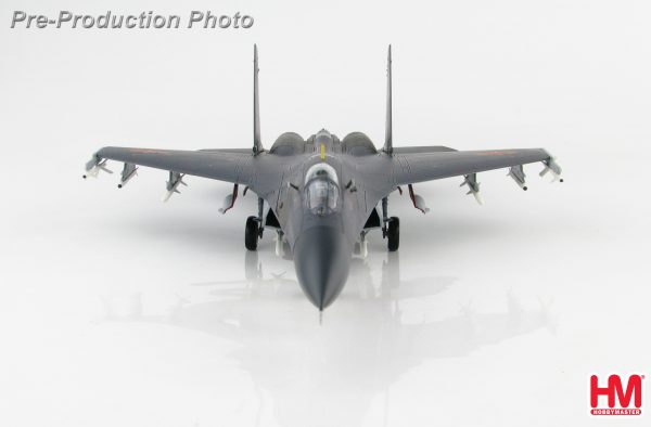 """Hobby Master Collector 1/72 Air Power HA6008 CCP Air Force Shenyang J-11 Air Superiority Jet Fighter, J-11B """"61021"""" 2019 January Northern Theater Aviation Training (Military Airplanes Diecast Model, Pre built Aircraft Scale Model)"""