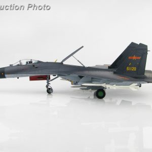 """Hobby Master Collector 1/72 Air Power HA6009 CCP Air Force Shenyang J-11 Air Superiority Jet Fighter, J-11B """"61120"""" 2019 January Northern Theater Aviation Training (Military Airplanes Diecast Model, Pre built Aircraft Scale Model)"""