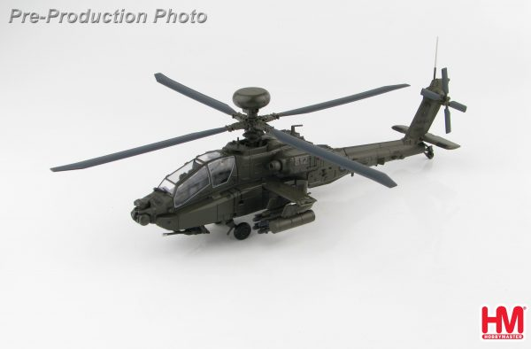 Hobby Master Collector 1/72 Air Power HH1206 Taiwan Army Boeing AH-64E Apache Guardian Attack Helicopter, 812/10012, 2010 (Military Airplanes Diecast Model, Pre built Aircraft Scale Model)