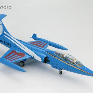 "Hobby Master Collector 1/72 Air Power HA1051 Lockheed TF-104G Starfighter Luftwaffe, JG 31""Boelcke"", 25th Anniversary 1983. German Air Force Lockheed F-104 Starfighter Interceptor aircraft, fighter-bomber (Military Airplanes Diecast Model, Pre built Aircraft Scale Model)"