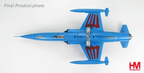 """Hobby Master Collector 1/72 Air Power HA1051 Lockheed TF-104G Starfighter Luftwaffe, JG 31""""Boelcke"""", 25th Anniversary 1983. German Air Force Lockheed F-104 Starfighter Interceptor aircraft, fighter-bomber (Military Airplanes Diecast Model, Pre built Aircraft Scale Model)"""